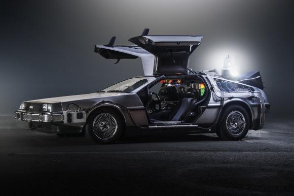 Back to the Future DeLorean Time Machine