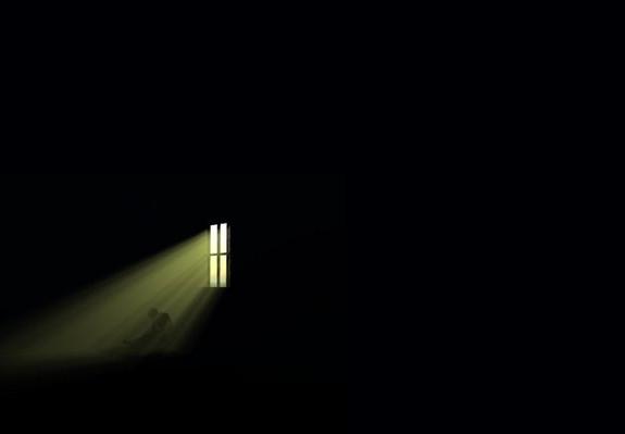 dark-room-light-through-window-hunched-man1-paint1-e1417333745364